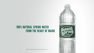 New Poland Spring® Brand Campaign Celebrates What Makes Spring Water Special