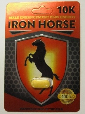 10K Iron Horse - Sexual enhancement (CNW Group/Health Canada)