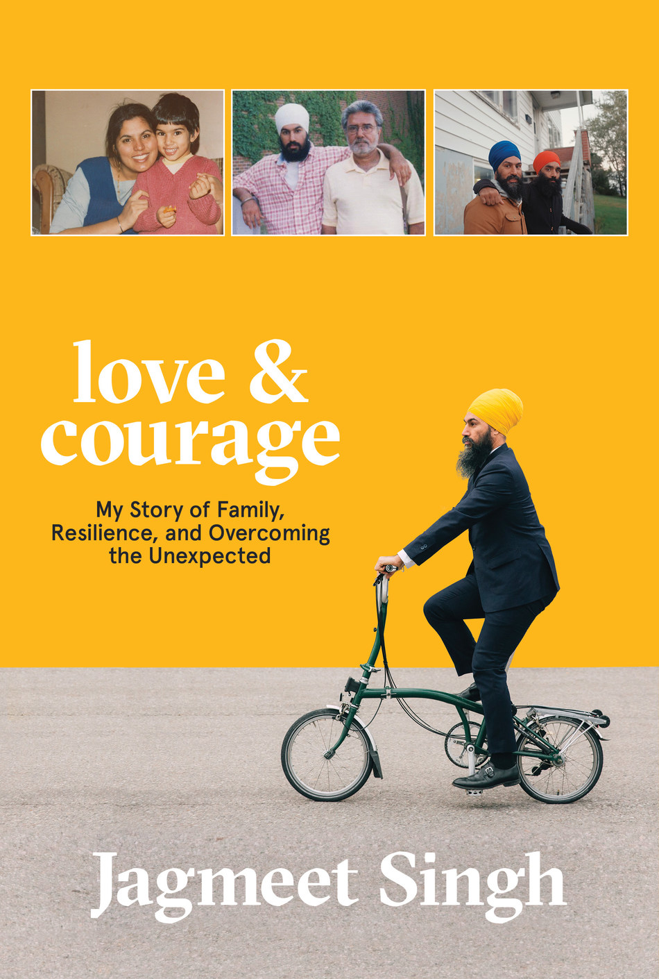 Love & Courage by Jagmeet Singh (CNW Group/Simon and Schuster Canada)