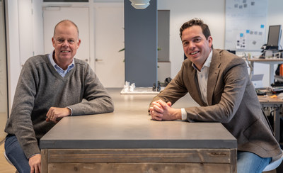 Maurits Teunissen, CEO at StyleShoots and David Jonkers, CEO at Bright River