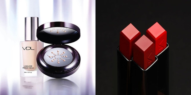 Lumilayer Primer Fresh, Expert Metal Cushion Foundation and Expert Lip Cube (CNW Group/VDL Cosmetics)