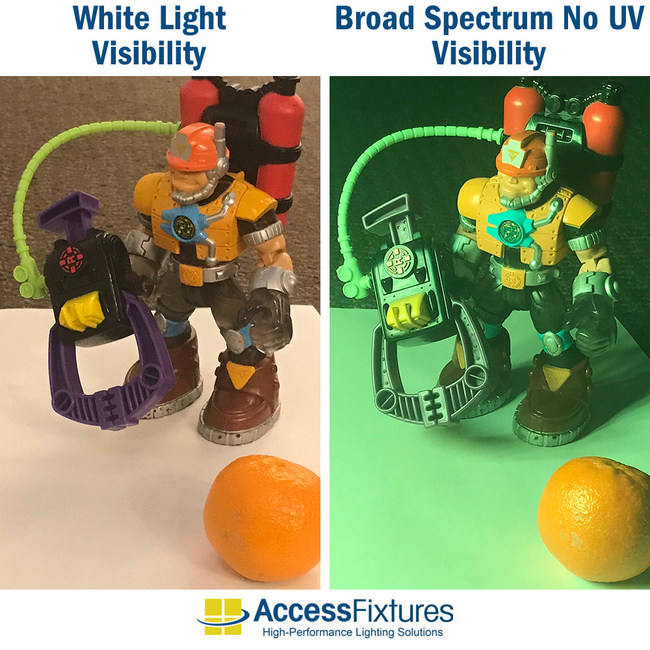 NO UV visibility comparison