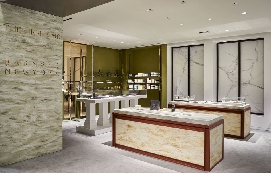 "Barneys New York Opens ""The High End"" Luxury Cannabis Lifestyle Shop"