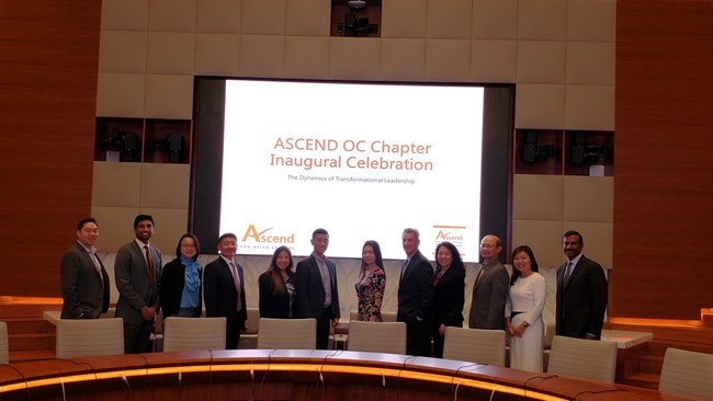 "The Ascend OC Chapter launched with a successful Inaugural Celebration themed ""The Dynamics of Transformational Leadership""."