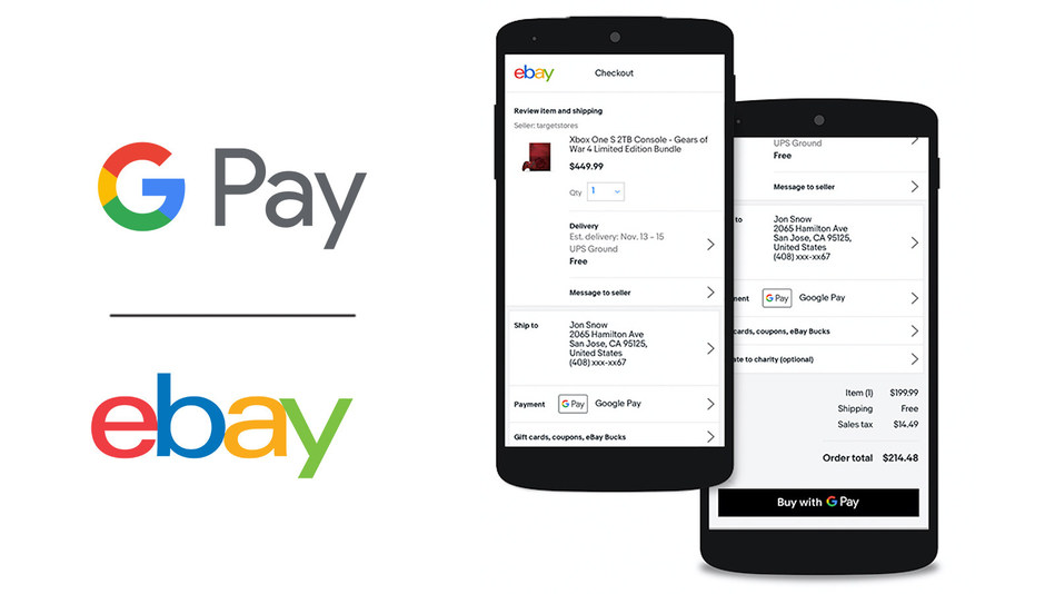 eBay to Begin Rolling Out Google Pay on its Marketplace Platform