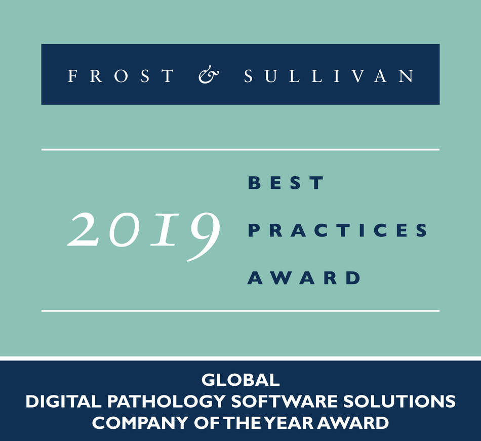 2019 Global Digital Pathology Software Solutions Company of the Year Award
