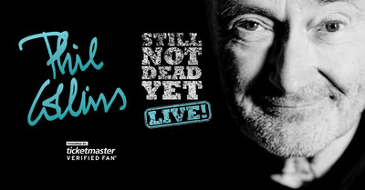 Phil Collins... Still Not Dead Yet, Live! The Legend Returns To The U.S. For Exclusive 2019 Run