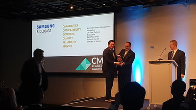 Samsung BioLogics Wins 2019 CMO Leadership Awards in All Six Core Categories Three Years in a Row