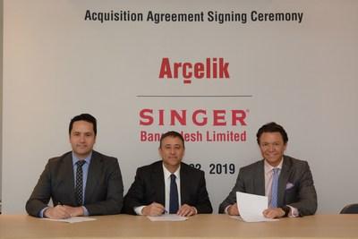 Arçelik以7500万美元收购Singer Bangladesh业务