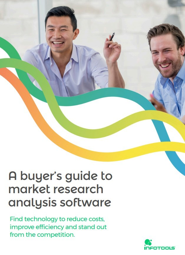 A buyer's guide to market research analysis software by Infotools