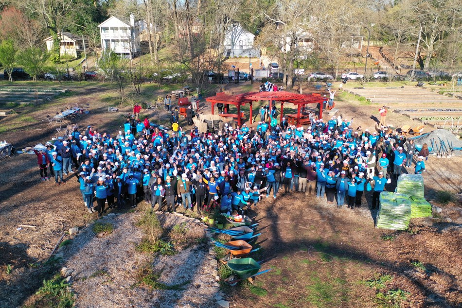 Westside Future Fund Teams with AT&T Volunteer Program Believe Atlanta to enable ADA accessibility at Ashview Heights Urban Farm