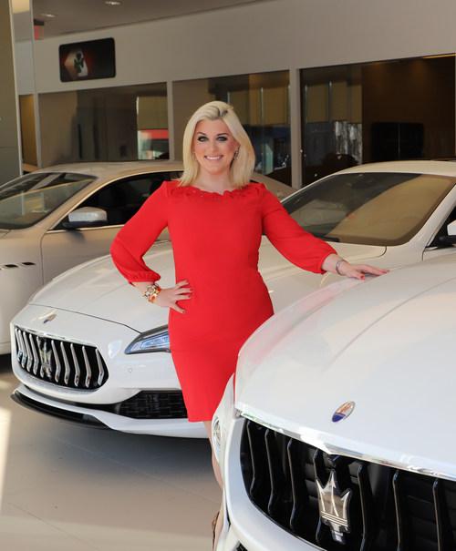 Melanie Borden at Maserati of Morris County