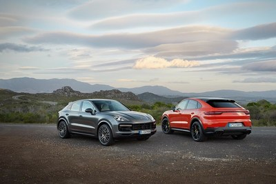 Porsche presents the 2020 Cayenne Coupe