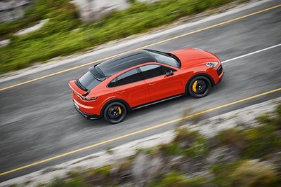On March 21, 2019, Porsche revealed the Cayenne Coupé as a new body variant to the SUV range on March 21, 2019. (CNW Group/Porsche Cars Canada)