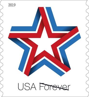 U.S. Postal Service Issues New Patriotic Stamp