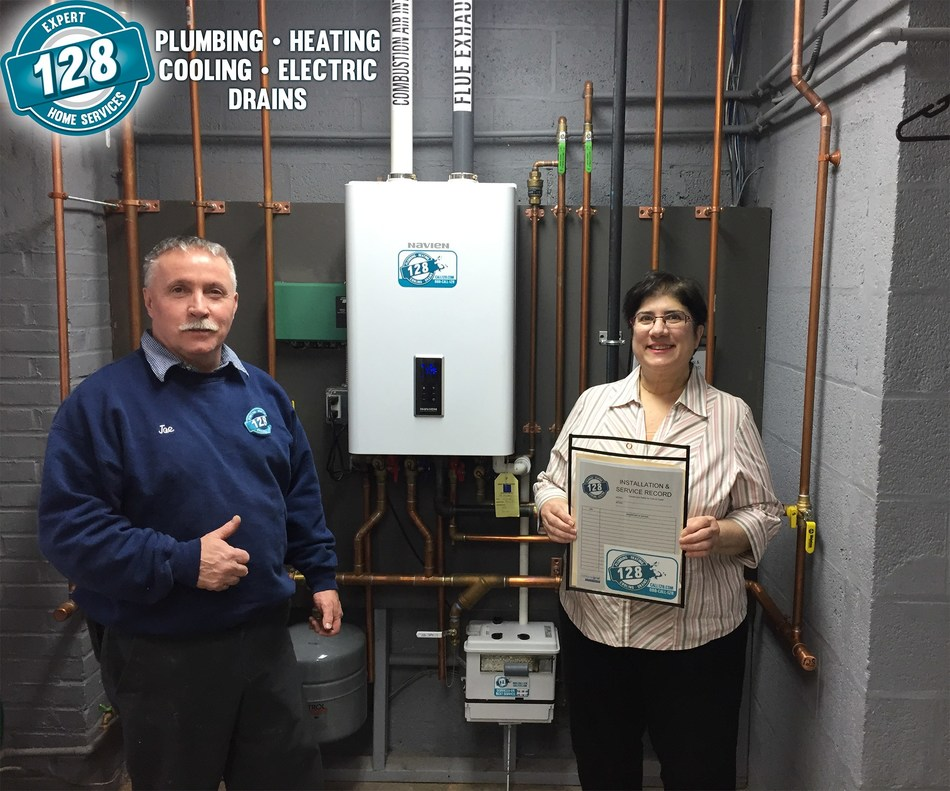 128 Plumbing, Heating, Cooling & Electric is encouraging homeowners to consider the benefits of tankless water heaters.