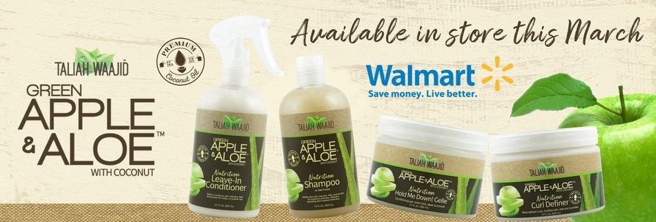 Apple and Aloe in Walmart NOW!