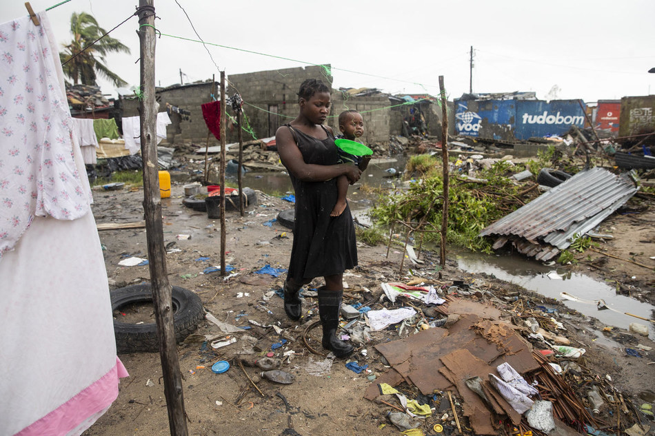 Hundreds of thousands of children urgently need humanitarian assistance after Cyclone Idai caused death and destruction in Mozambique, Malawi and Zimbabwe. © UNICEF/UN0290284/de Wet AFP-Services (CNW Group/UNICEF Canada)