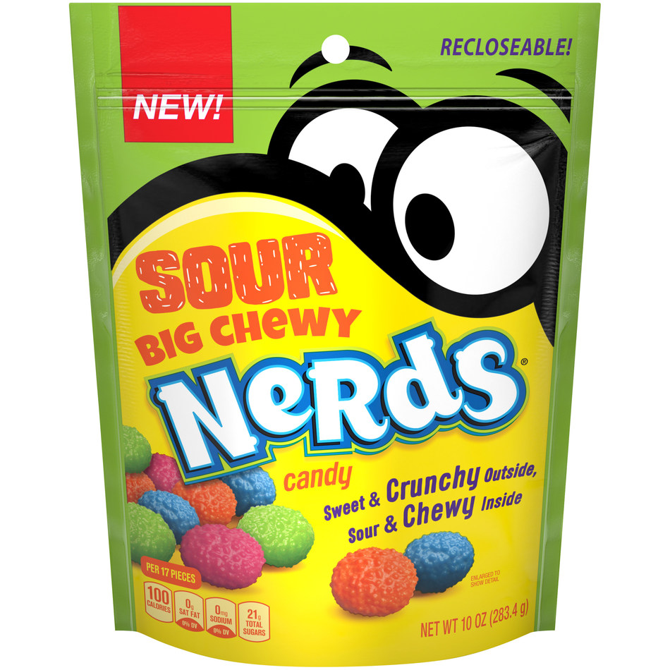 New Sour Big Chewy NERDS