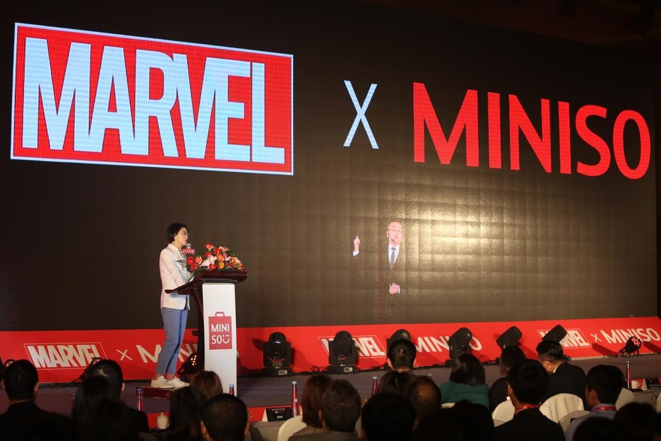 MINISO announced the official cooperation with the world's top IP Marvel.