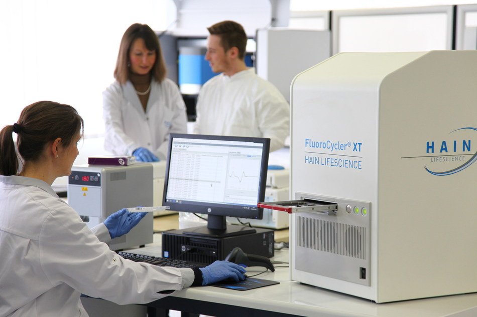 Figure 1: New FluoroCycler XT PCR platform