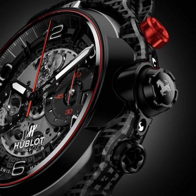 Hublot Classic Fusion Ferrari-GT 3D Carbon