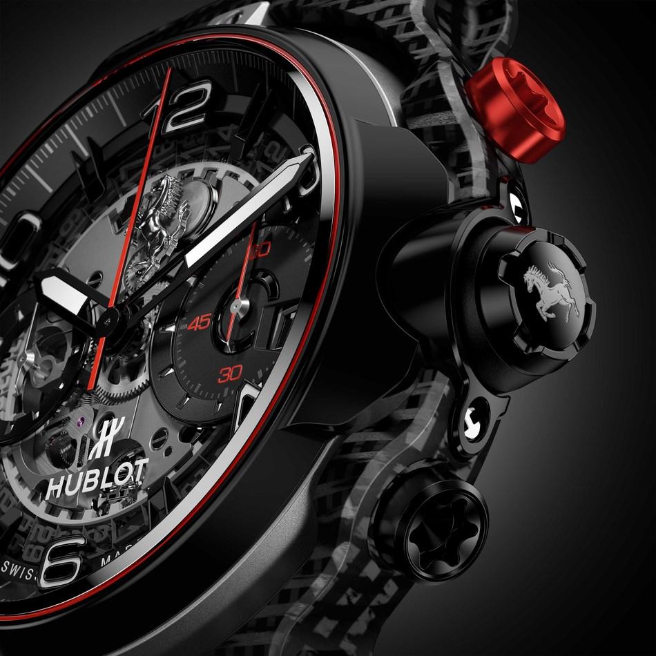 Hublot Classic Fusion Ferrari GT 3D Carbon