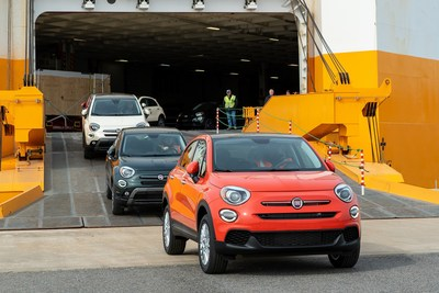 New 2019 Fiat 500X Models Arrive in U.S. from Italy
