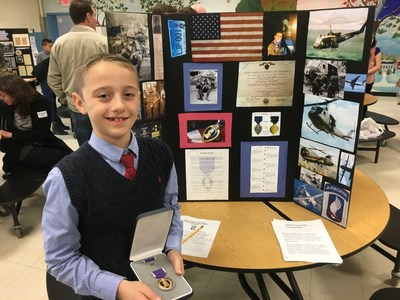 Youth Get Involved In Veteran Fundraising