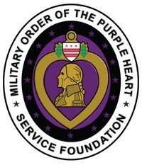 Military Order of the Purple Heart Service Foundation, www.purpleheartfoundation.org, Est. - 1957 (PRNewsfoto/Purple Heart Foundation)