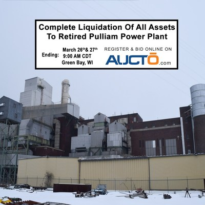 All Assets From Pulliam Powerplant to Be Sold Through Auction Next Week
