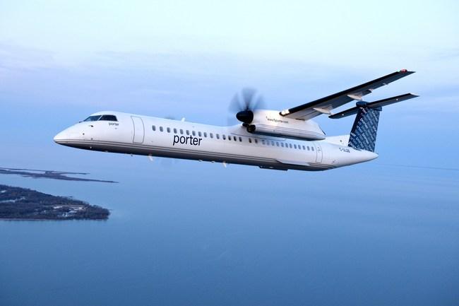 Porter Airlines desservira l'aéroport de Muskoka en lançant son service estival en 2019. (Groupe CNW/Porter Airlines)
