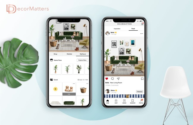 DecorMatters Unveils MyDecor, the Marketplace of Virtual Home Goods
