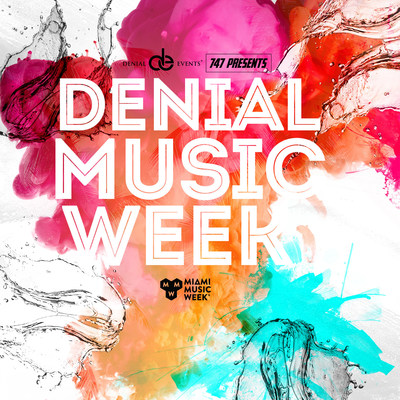 welcome to Denial Events awe-inspiring lineup for MMW19, 35+ Shows, 7 Venues, 130+ DJs
