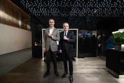 Kevin Pietersen, HUBLOT new friend of the brand, and Ricardo Guadalupe, HUBLOT CEO.