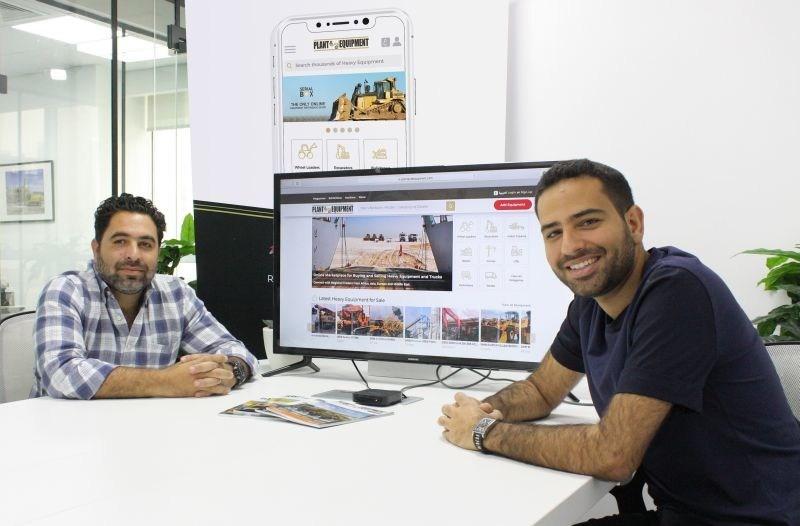 PlantAndEquipment.com co-founders Saleh Kuba (left) and Zayd Kuba.
