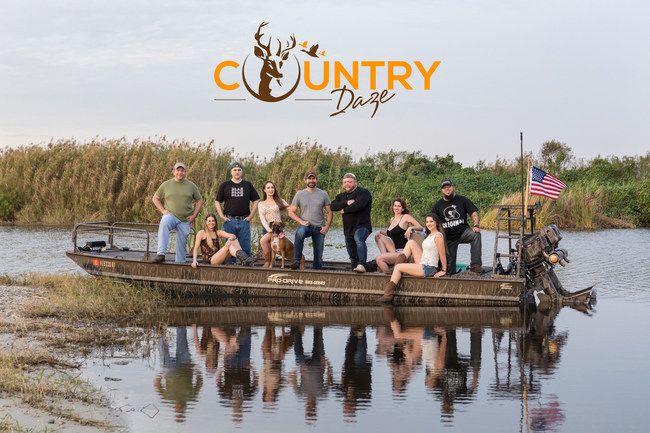 The cast of Country Daze