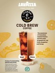 Lavazza launches first cold brew coffee made with sustainably sourced coffee beans from Colombia