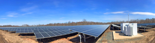 Conti Solar managed EPC services for NJR Clean Energy Ventures' 10.7 MW, Old Bridge Brightfield Solar Park located in Keyport, NJ.