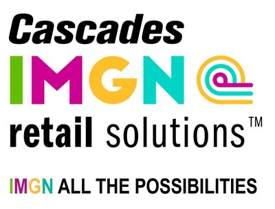Logo: Cascades IMGN retail solutionsTM (CNW Group/Cascades Inc.)