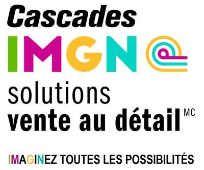 Logo : Cascades IMGN solutions vente au détailMC (Groupe CNW/Cascades Inc.)