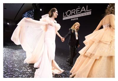 巴黎欧莱雅沙龙专属举办庆典晚会,庆祝品牌成立110周年