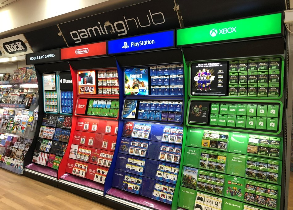 InComm and WH Smith Launch In-Store, Online Hubs for Game Cards in the UK