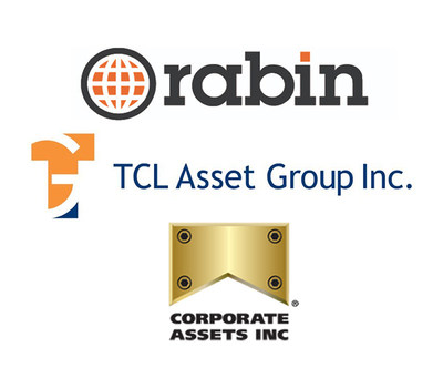 Rabin, TCL Asset Group Inc., y Corporate Assets Inc Logos