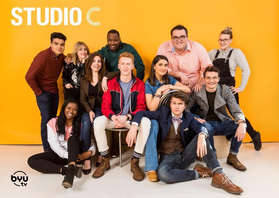 "Season 10 cast of BYUtv's ""Studio C."""