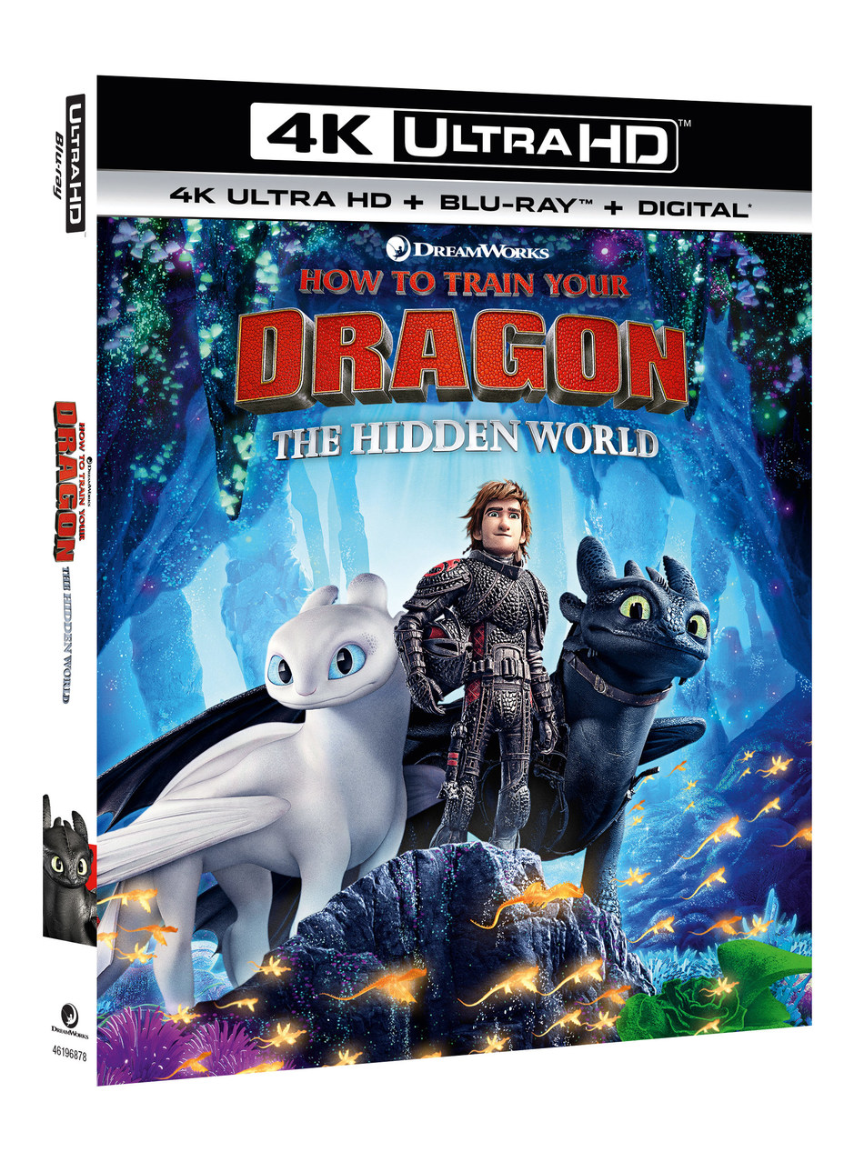 From Universal Pictures Home Entertainment: How to Train Your Dragon: The Hidden World