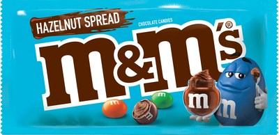 M&M'S® Introduces New Hazelnut Spread-Filled Chocolate Candies