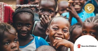 Nuts for a Healthier World为帮助营养不良儿童筹集了47800欧元