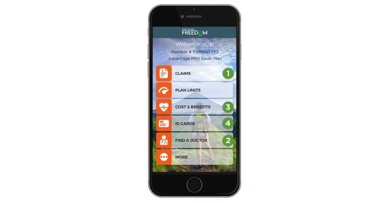 Tufts Health Freedom Plan Launches New Mobile App