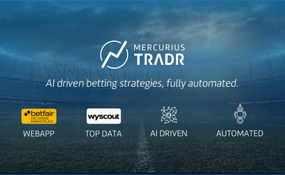 Mercurius Tradr, a new app in the Betfair App Directory that makes successful sports trading as simple as pressing a button